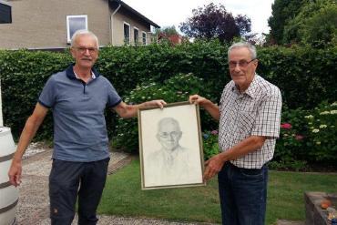 Prent Jakob Hovens Greve terug naar familie