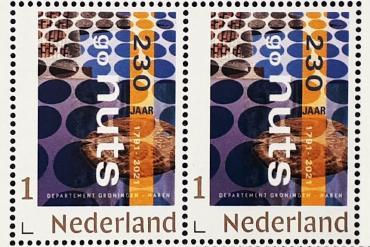 Postzegel Groningen-Haren