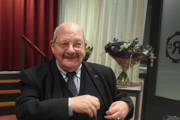 Maarten Rietveldt 40 jaar voorzitter departement